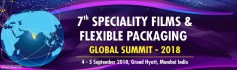 7th Speciality Films & Flexible Packaging Global Summit-2018-Mumbai (India)