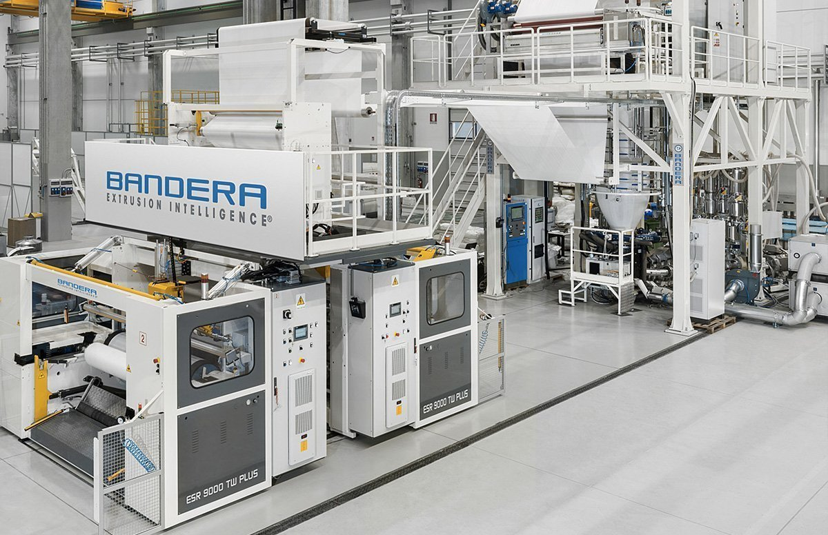 Packaging & Converting - Bandera Plastics Extrusion - Italy